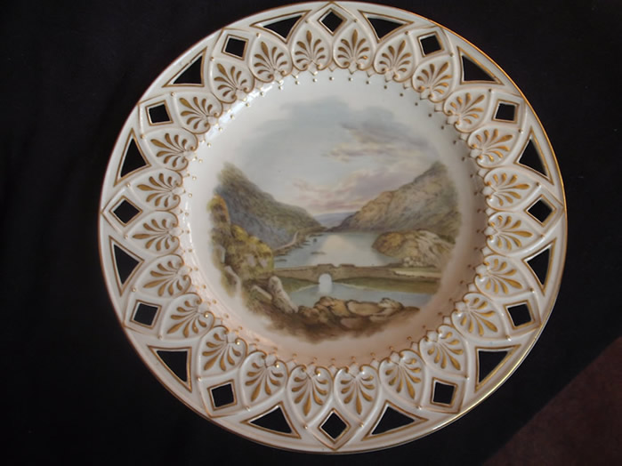 Painted Plate by Eugene Sheerin