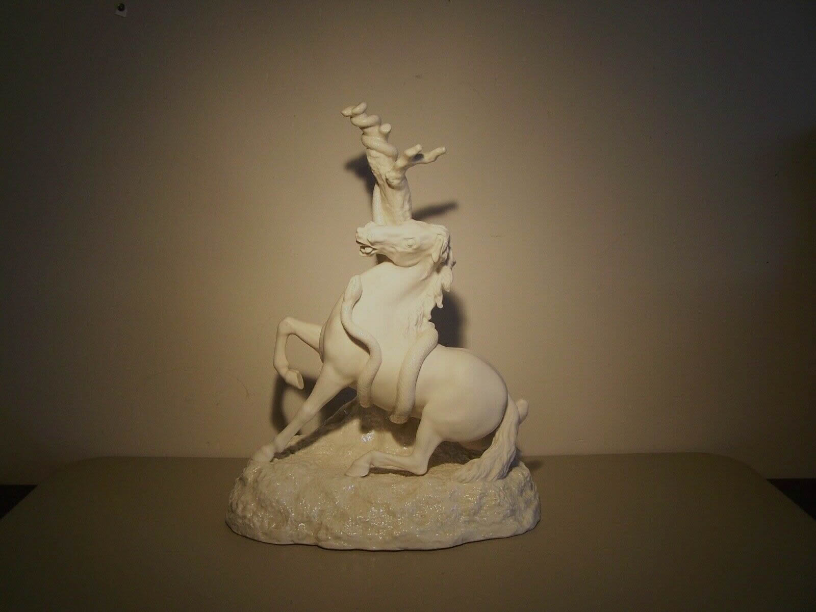 Horse and Snake Figure